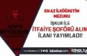 Konya Büyükşehir Belediyesi İtfaiye Şoförü...
