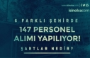 Kültür Bakanlığı 6 şehir'de KPSS siz 147...