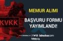 KVKK Memur Alımı Başvuru Formu Yayımlandı! İstenen...