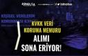 KVKK Veri Koruma Memuru Alımı Başvuruları Bitiyor!...