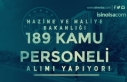 Maliye Bakanlığı 189 KPSSli KPSS siz Kamu Personeli...