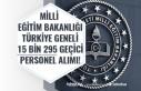 Milli Eğitim Bakanlığı Türkiye Genelinde 15 Bin...