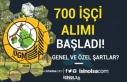 OGM 700 İşçi Alımı İŞKUR'da Başladı!...