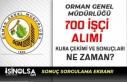 OGM 700 İşçi Alımı Kura Çekimi ve Sonuçları...