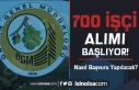 OGM Kadrolu 700 İşçi Alımı Başvurular Başlıyor!...