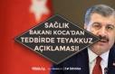 Sağlık Bakanı Koca Ardı Ardına Koronada Teyakkuz...