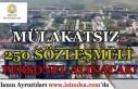 Selçuk Üniversitesi Mülakatsız 250 Sözleşmeli...