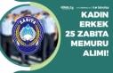 Şişli Belediyesi Kadın Erkek 25 Zabıta Memuru...