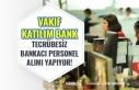 Vakıf Katılım Bankası Yeni Mezun Tecrübesiz Bankacı...