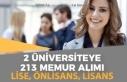 2 Üniversiteye 213 Sağlık Personeli Memur Alımı...