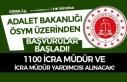 Adalet Bakanlığı 1100 İcra Müdür ve İcra Müdür...