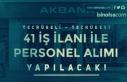 Akbank 41 İş İlanı İle En Az Lise Mezunu Personel...