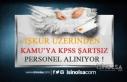 Belediye ve Kamu Kurumlarına KPSS Şartsız Personel...