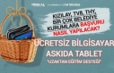 Belediye Askıda Tablet ve Ücretsiz Bilgisayar Kampanyası...