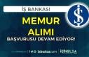 İş Bankası Memur ( Müfettiş Yardımcısı ) Alımı...