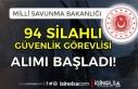İŞKUR'da MSB 94 Silahlı Güvenlik Görevlisi...