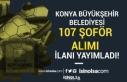 Konya Büyükşehir Belediyesi İlkokul Mezunu 107...