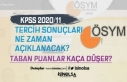 KPSS 2020/11 200 Memur Alımı Sonuçları Ne Zaman...