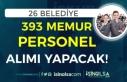 KPSS En Az 50 Puan ve KPSS Siz 26 Belediye 393 Memur...