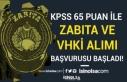 KPSS En Az 65 Puan İle Belediye VHKİ ve Zabıta...