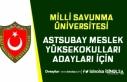MSÜ Astsubay Meslek Yüksekokulları Adayları İçin...