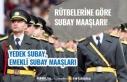 Rütbelerine Göre 2020 Subay Maaşları, Yedek, Emekli...