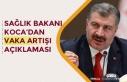 Sağlık Bakanı Fahrettin Koca'dan Koronavirüs'te...