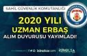 Sahil Güvenlik Komutanlığından 2020 Uzman Erbaş...