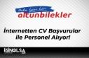 Altunbilekler İnternetten CV Başvurular ile Personel...