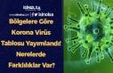 Bölgelere Göre Korona Virüs Tablosu Yayımlandı!...