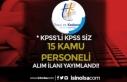 CSB Tapu ve Kadastro 15 Kamu Personeli Alım İlanı!...