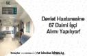 Devlet Hastanesine 67 Daimi İşçi Alımı Yapılıyor!
