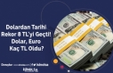 Dolardan Tarihi Rekor 8 TL'yi Geçti! Dolar,...