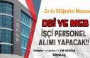 DSİ ve İl Milli Eğitim Müdürlüğü Engelli Personel...