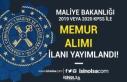 Hazine ve Maliye Bakanlığı 2019-2020 KPSS İle...