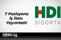 HDI Sigorta 7 Pozisyona İş İlanı Yayımladı!