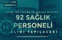 Kafkas Üniversitesi 92 Sağlık Personeli Alım İlanı...