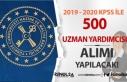 Maliye Bakanlığı Merkez Teşkilatına 500 Uzman...