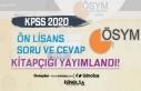 ÖSYM'den Duyuru: 2020-KPSS Ön Lisans Soru ve...