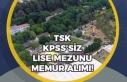 TSK, Komutanlığa Lise Mezunu KPSS'siz Personel...