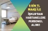 İŞKUR'dan Hastanelere KPSS'siz Personel Alımı! 3000 Tl Maaş ile!