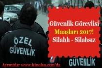 Güvenlik Görevlisi Maaşları! Silahlı ve Silahsız Güvenlik Görevlisi