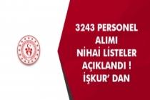 Gençlik ve Spor Bakanlığı (GSB) 3243 Personel Alımı Nihai Listeler Açıklandı! İŞKUR