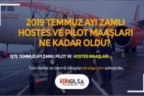 Hostes/Kabin Memuru ve Pilot Maaşları Ne Kadar 2019
