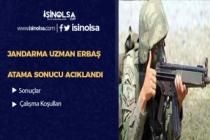 Jandarma Uzman Erbaş Atama Sonuçları Bugün Açıklandı