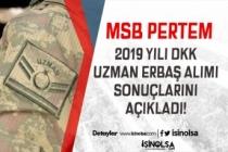 MSB PERTEM'de 2019 Yılı Uzman Erbaş Alımı Sonuçları açıklandı! Seçim Tarihleri?