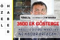 3600 Ek Gösterge Çıkarsa Polis, Öğretmen ve Hemşire Maaşları Ne Kadar Artacak?