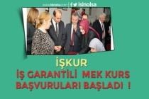 İŞKUR İstihdam Garantili, Günlük 85 TL Verilen MEK Kursu Başvuruları Başladı!