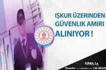 İŞKUR Üzerinden Yüksek Maaşla Güvenlik Müdürü, Güvenlik Amiri Alımı Yapılıyor