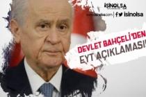 EYT Seçim Uğruna Reddeden Cumhurbaşkanı'na Bahçeli'den Yanıt